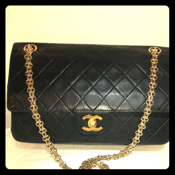 e4e7ecc45b07 CHANEL Handbags - Chanel lambskin double flap 2.55